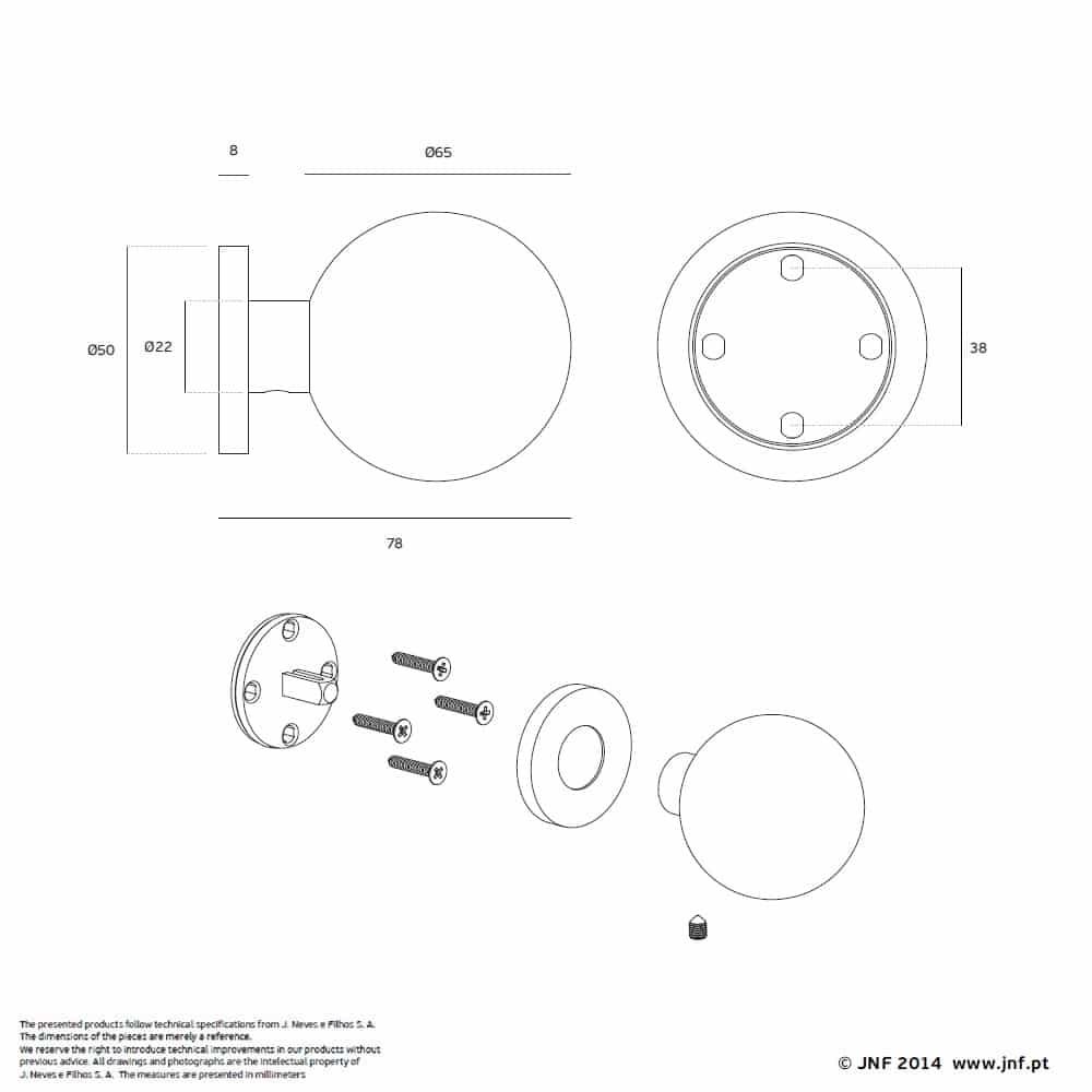 deurknop-massief-kogel-antibacterieel-doorhandleshop.nl-jnf-65mm-0200090-tech
